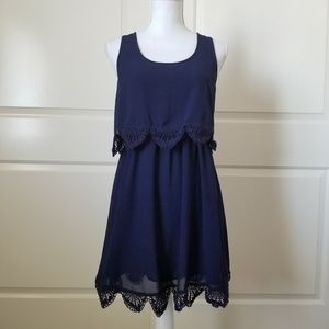 Forever 21 Womens Dress Size Small Blue